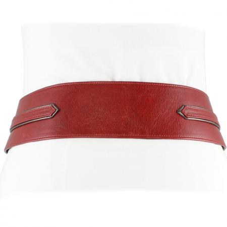 CURVE PERFECT WEST BELT<br > red & anthracite