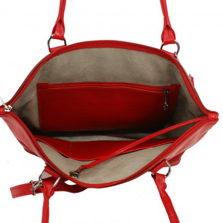 ELEGINK <br> red & silver grey  MADE TO ORDER