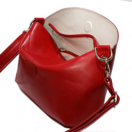 MINI ROO<br>red & pearl grey