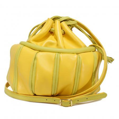 TWINKLE SLOUCH <br> yellow & celery