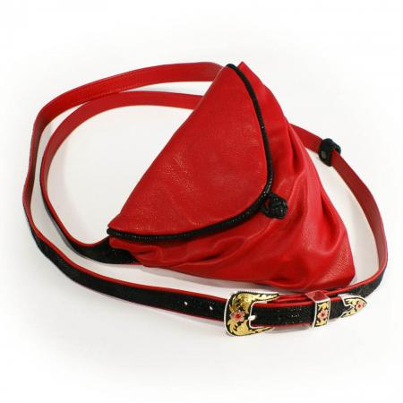 HIP HIP WRAPPER<br >red & black