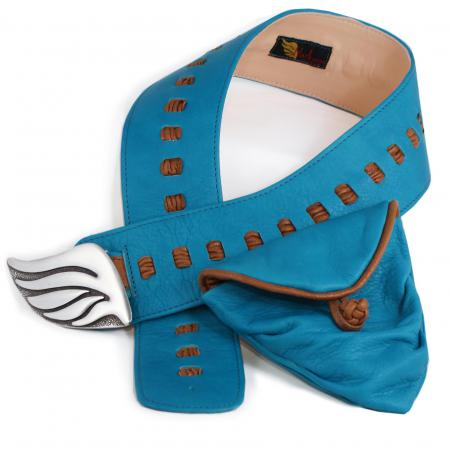 HIP DITTY RIBBON<br>turquoise & copper