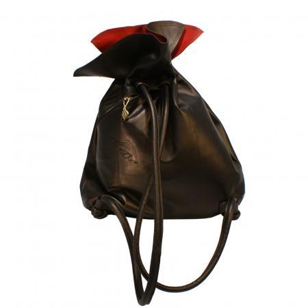 NANA PACK<br>  dark brown pearl & red