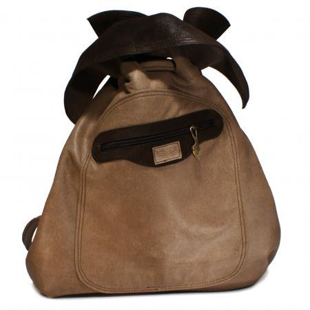 NANA PACK <br> distressed taupe & dark brown