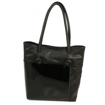 AEQUITLI the medium Shopper <br> black
