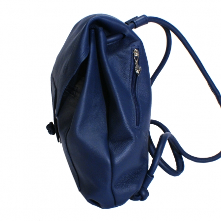 KIT SAC<br> navy blue & taupe